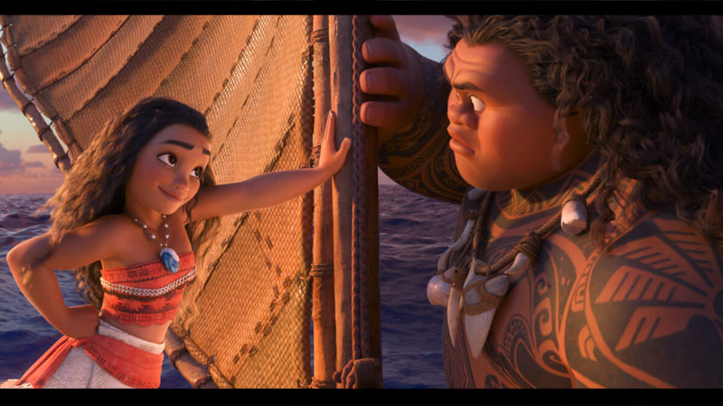 This image from the film, Moana, is copyrighted to the Walt Disney Animation Studios
