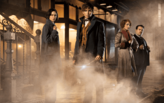 This image from the film, Fantastic Beasts and Where to Find Them, is copyrighted to Warner Bros. Pictures