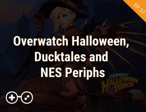 Overwatch Halloween, Ducktales and NES Periphs